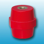 Polyglass standoff insulator made in polyester reinforced with fibreglass