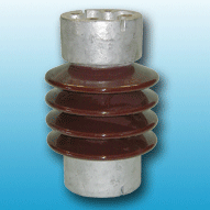 Porcelain post insulator for high voltage